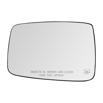 Mirror Glass Heated Passenger Right Side RH for Dodge Ram 1500 2500