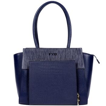 SMART London City Handbag Midnight Blue
