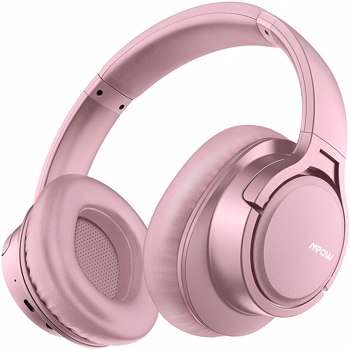 【bans sale on Amazon】H7 Bluetooth Headphones, Comfortable Over Ear Wireless Headphones, HiFi Stereo Headset, Wireless Wired Mode, CVC6.0 Microphone for Kids, Adults, Cellphone, Online Class, Home Off