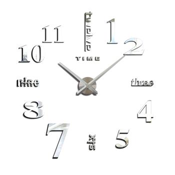 DIY Arabic Digital Art Clock Sliver