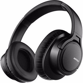 【bans sale on Amazon】H7 Bluetooth Headphones, Comfortable Over Ear Wireless Headphones, HiFi Stereo Headset, CVC6.0 Microphone for Kids, Adults, Cellphone, Online Class, Home Office, PC Black