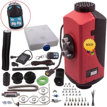 Diesel Air Heater 12V 2KW-5KW Adjustable Tank Remote Control LCD Switch for Caravan RV Pickup